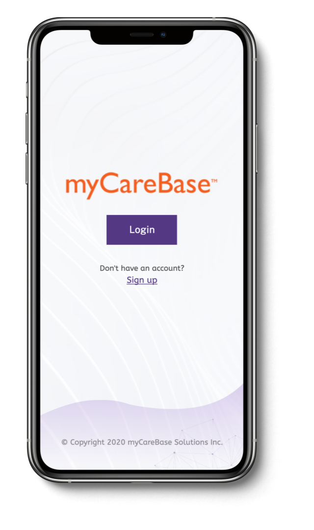 Connect with your caregiver  anywhere, anytime